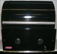 Small photo of Fire Magic- Custom 1 Gourmet porcelain oven w/ Custom 1 Porcelain Grill