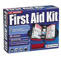 Small photo of First Aid Kit 86 Piece All Purpose