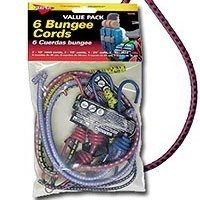 Small photo of 6 Pack of Assorted Bungee Cords