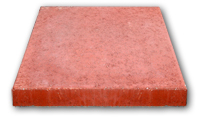 Small photo of Stepping Stone - Square Red