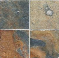 "Small photo of Ming Valley Gauged Slate 16""x16"""