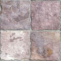 "Small photo of Violet Garden Guillotine Slate 12""x12"""