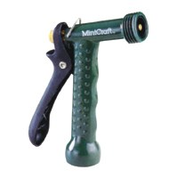 Small photo of Garden Hose Nozzle - Metal Trigger Nozzle 5-1/2 Inches