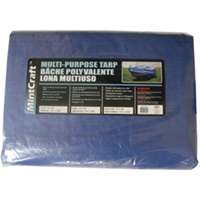 Small photo of Storage Cover Tarps - 8X10 Inch Lght Duty Blue Tarp