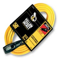 Small photo of Extension Cords - 12/3 x 50 Feet Lock Plug Extension Cord