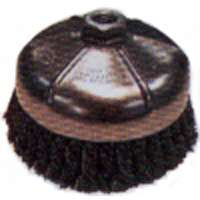 Small photo of Wire Cup Brushes - 2-3/4 Inch Knot Wire Cup Brush