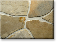 Small photo of Lompoc Oatmeal Thin Flagstone from Lompoc Quarries