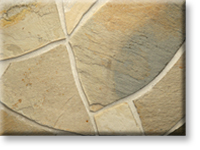Small photo of Lompoc Oatmeal Select Flagstone from Lompoc Quarries