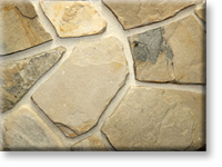 Small photo of Lompoc Oatmeal Wall Stone (Mosaic) from Lompoc Quarries