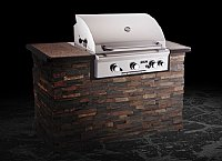 "Small photo of American Outdoor Grill 30"" Built-in Propane Gas"