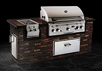 "Small photo of American Outdoor Grill 36""    Built-in, w/o Backburner and Warming Rack"