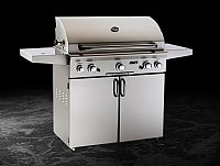 Small photo of American Outdoor Grill 36 x 18 Portable Grill w/o Backburner and Warming Rack