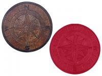 Small photo of Proline Compass Medallion - Rental
