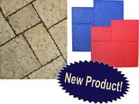 Small photo of Proline Ashlar Versailles Tumbled Travertine - Rental