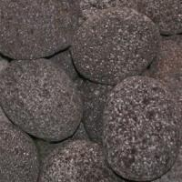 Small photo of Tumbled Black Lava 2-3""