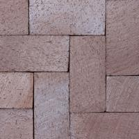 "Small photo of 1-1/4"" Brown Flash Paver"