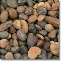 "Small photo of Sonora Shine Pebble 1/2"" to 1"" size"