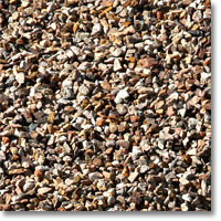 "Small photo of Apache Brown Gravel 3/8"" size"