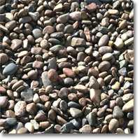 "Small photo of Apache Pebble 1/2""- 3/4"" size"