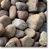 "Small photo of Canadian Mist Pebbles 2""-3"" size"