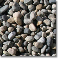 "Small photo of Yosemite Pebbles 1"" to 1 1/2"" size"