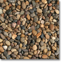 "Small photo of Sonora Shine Pebble 3/8"" to 5/8"" size"