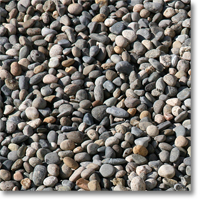 "Small photo of Yosemite Pebbles 3/8"" to 1/2"" size"