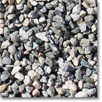"Small photo of Crushed Gravel  1-1/2"" size"