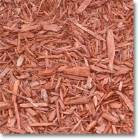 Small photo of Designer Wood Chips - Red