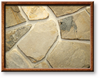 Small photo of Lompoc Petite Mosaic Oatmeal Thin Veneer from Lompoc Quarries