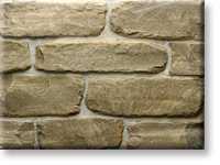 Small photo of Lompoc Tumbled Ledge Cream Thin Veneer from Lompoc Quarries