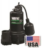 Small photo of Sump Pump - Submersible w/ Piggy Back Tether Float Switch