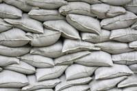 Small photo of Sand Bags - Filled and Unfilled