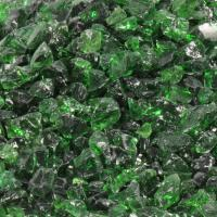 Small photo of Light Green Fire Pit Glass - Small and Medium