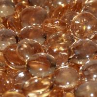 Small photo of Apricot Luster Firebeads