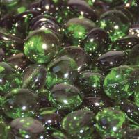 Small photo of Emerald Luster Green Firebeads