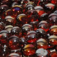 Small photo of Sangria Luster Firebeads