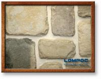 Small photo of Lompoc Tumbled Petite European Castle Thin Veneer from Lompoc Quarries