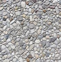 """Small photo of Stepping Stone - 12"""" x 12"""" Exposed Aggregate French Gray"""