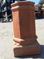 Small photo of Large Octagon Chimney Pot