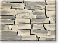Small photo of Lompoc Gray Blend Ashlar Strip Thin Veneer from Lompoc Quarries